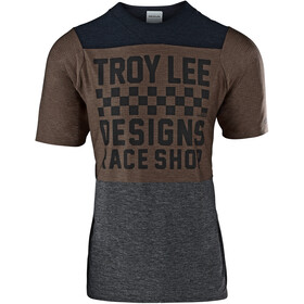 Troy Lee Designs Skyline Air - Maillot manga corta Hombre - gris/marrón